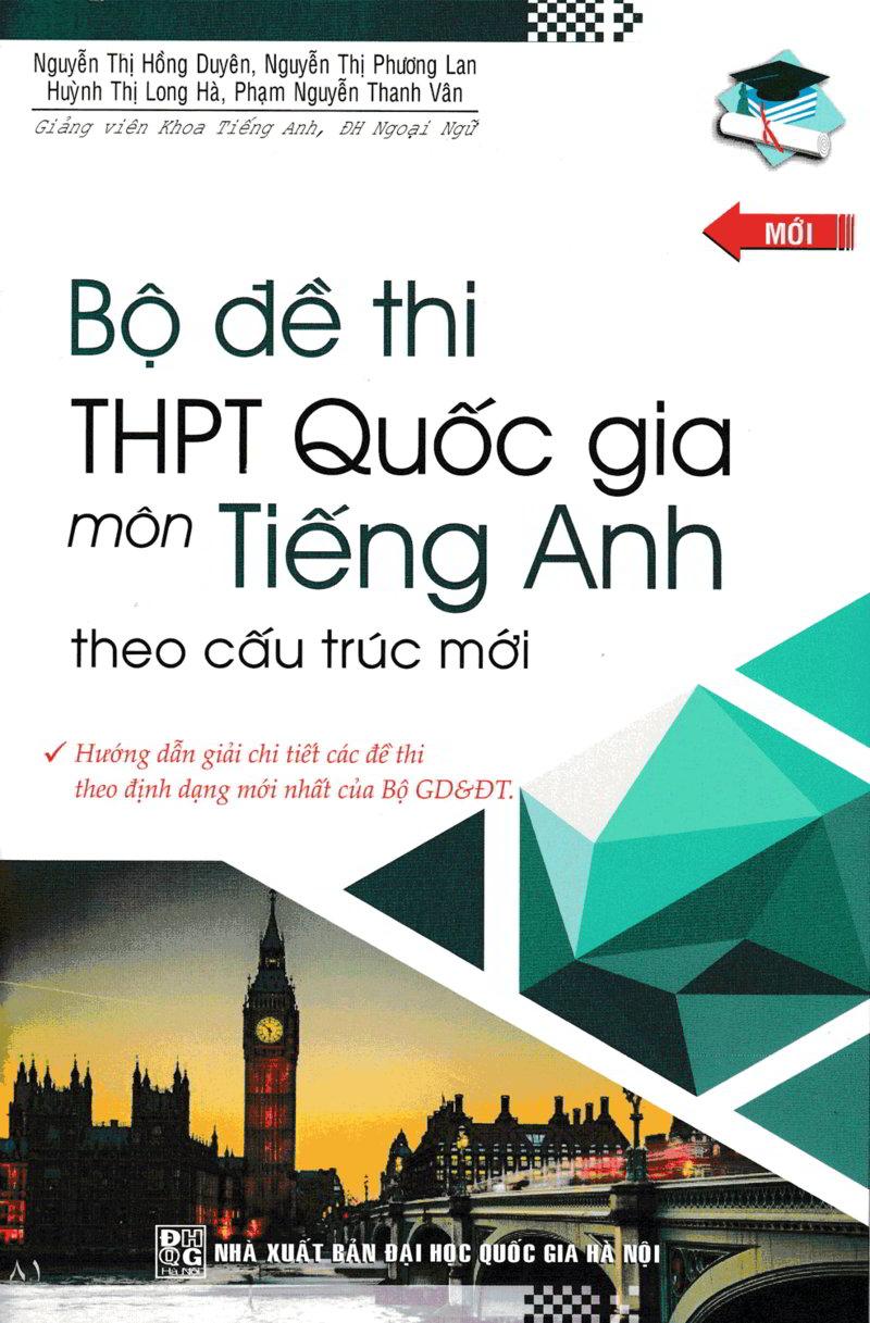 Tải sách: Top 4 sách Luyện thi tiếng Anh Trung học phổ thông quốc gia