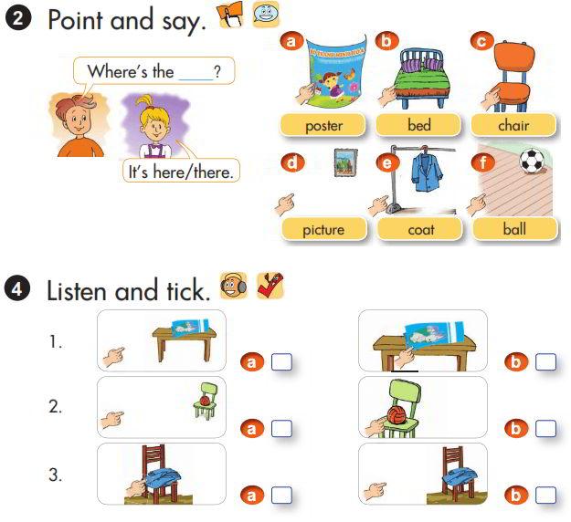 Tải sách: Giải chi tiết bài tập sách giáo khoa tiếng Anh lớp 3 unit 13