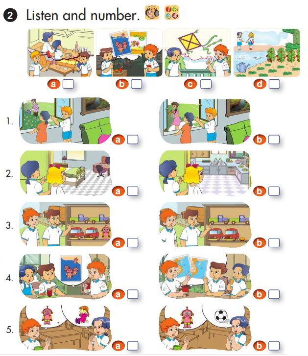 Tải sách: Giải chi tiết bài tập sách giáo khoa tiếng Anh lớp 3 review 3