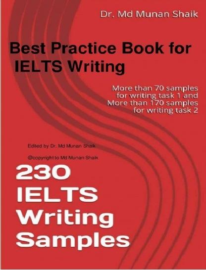 Tải sách: 230 IELTS Writing Samples (Bản Đẹp)