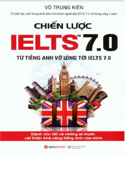 Tải sách: Chiến Lược IELTS 7.0 (Bản Mới Nhất)