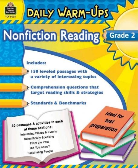 Tải sách: Daily Warm-Ups Nonfiction Reading Grade 2 Bản PDF Đẹp Nhất