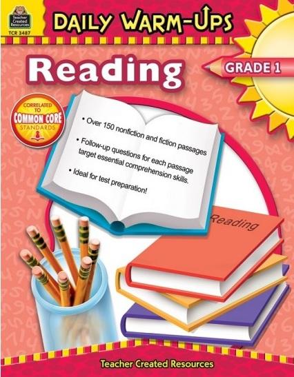 Tải sách: Daily Warm-Ups Reading Grade 1 Bản PDF Đẹp Nhất