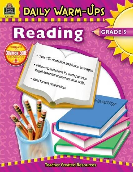 Tải sách: Daily Warm-Ups Reading Grade 5 (Bản PDF Đẹp Nhất)