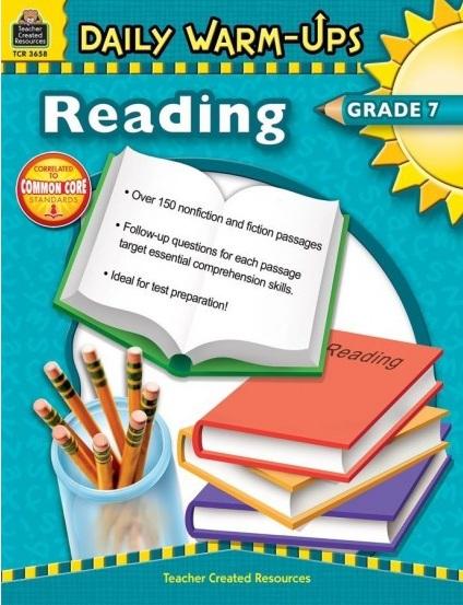 Tải sách: Daily Warm-Ups Reading Grade 7 Bản Đẹp Nhất