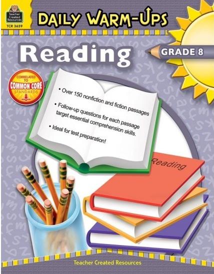 Tải sách: Daily Warm-Ups Reading Grade 8 Bản Đẹp Nhất