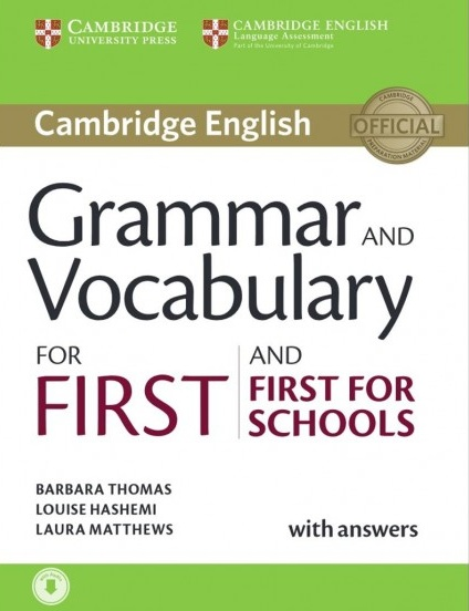 Tải sách: Grammar And Vocabulary For First And First For Schools (Bản Đẹp)