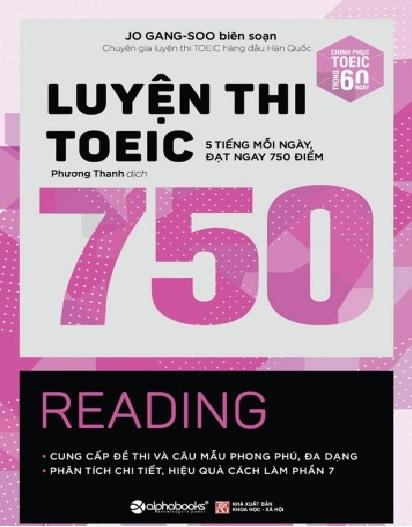 Tải sách: Luyện Thi Toeic 750 Jo Gang – Soo Biên Soạn (Trọn Bộ)