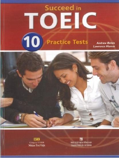 Tải sách: Succeed In TOEIC (Full Ebook + Audio + Answer Key) Bản Đẹp