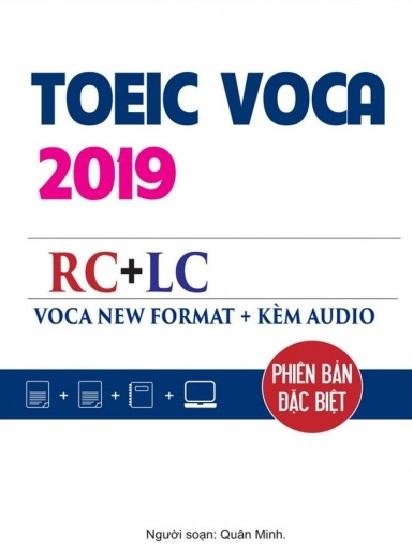 Tải sách: Toeic Voca New Format RC+LC (Phiên Bản Đặc Biệt) Bản Đẹp