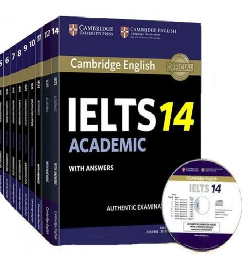 Tải sách: Trọn Bộ Cambridge IELTS Từ 1 – 14 (Bản Đẹp + Giải Chi Tiết)