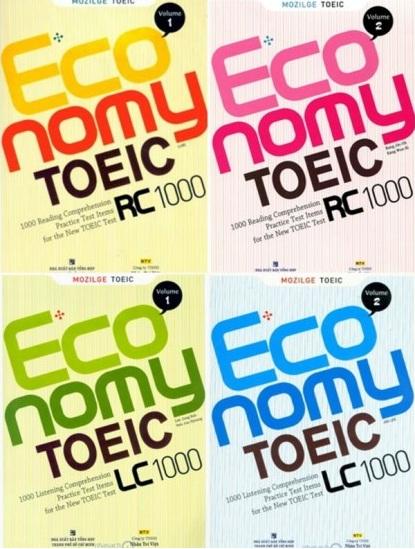 Tải sách: Trọn Bộ Economy TOEIC LC RC 1000 Volume 1,2,3,4,5 (Bản Đẹp Nhất)