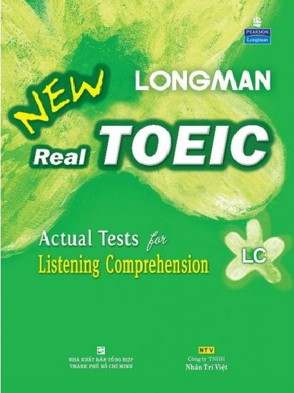 Tải sách: Trọn Bộ Sách Longman New Real Toeic LC,RC (Full Ebook+Audio) Bản Đẹp