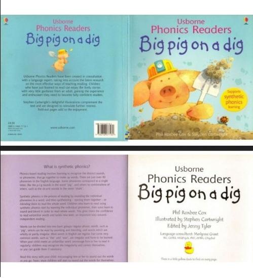 Tải sách: 12 Bộ Sách Usborne Phonics Readers (Full Ebook+Audio) Bản Đẹp