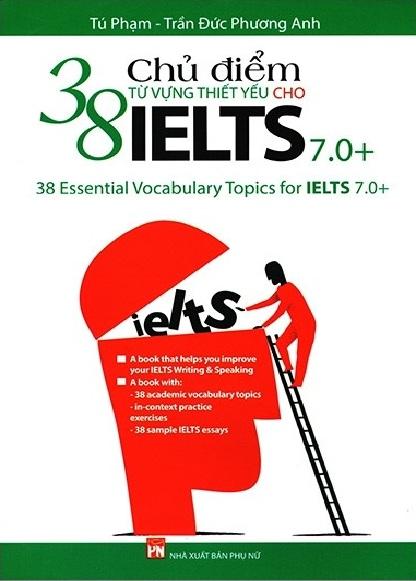 Tải sách: 38 Chủ Điểm Từ Vựng Thiết Yếu Cho Ielts 7.0 (Bản Đẹp)
