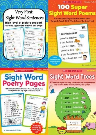 Tải sách: Bộ Sách Sight Word Gồm 4 Cuốn (Ebook+Audio) Bản Đẹp