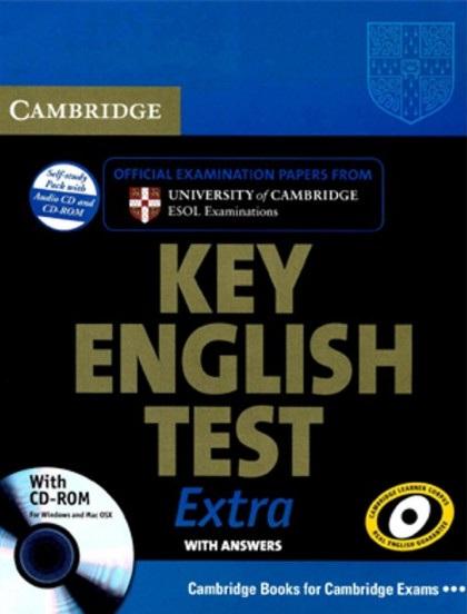Tải sách: Cambridge Key English Test Extra (Ebook+Audio) Bản Đẹp