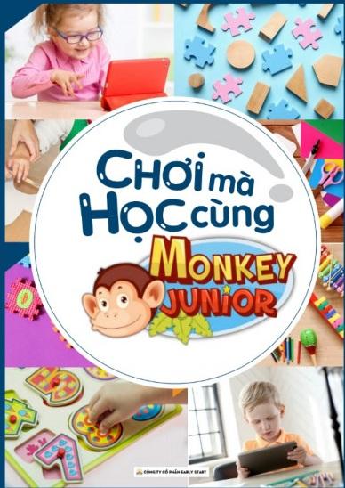 Tải sách: Chơi Mà Học Cùng Monkey Junior (Bản Đẹp)