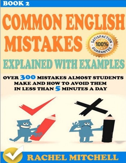 Tải sách: Common English Mistakes Explained With Examples Bản Đẹp