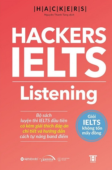 Tải sách: Hackers IELTS Listening Bản Đẹp