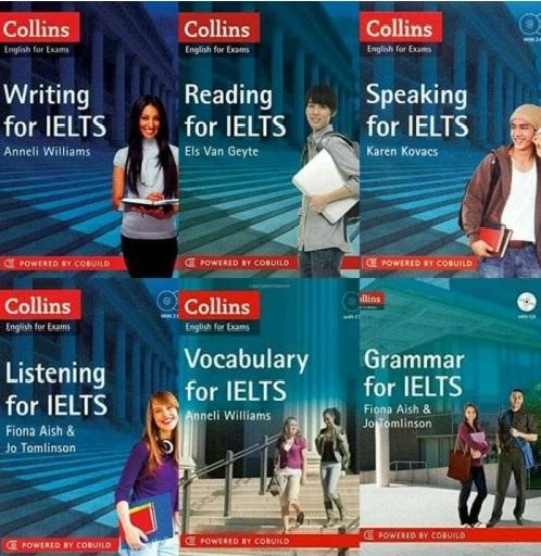 Tải sách: Trọn Bộ Sách Collins For IELTS (Ebook +Audio) Bản Đẹp