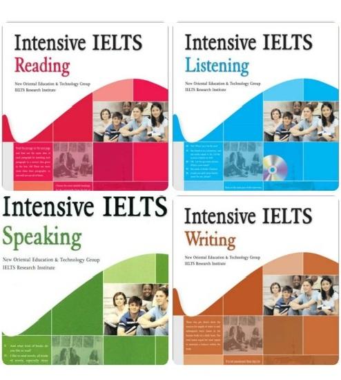 Tải sách: Trọn Bộ Sách IELTS Intensive (Reading + Listening+Speaking+Writing) Bản Đẹp